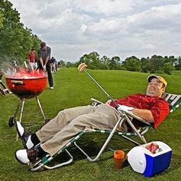 Barbacue Golfer