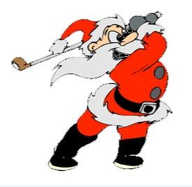 Santa Golfer