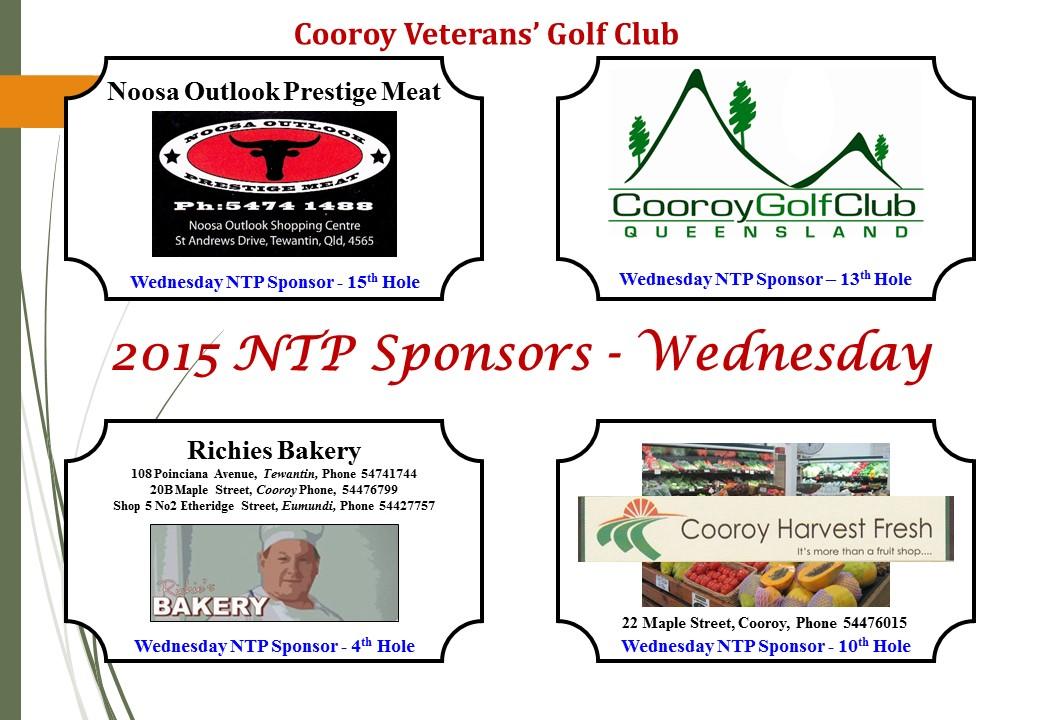 Sponsorship Plaques - NTP