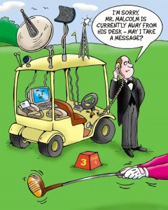 Golf-Butler