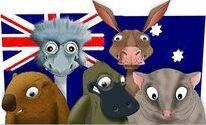 Kangaroos, Emus Koalas