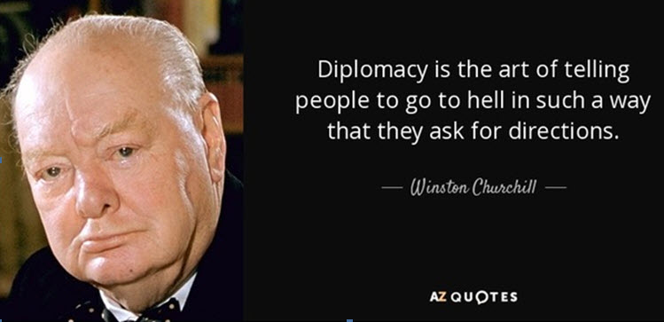 Churchill Winston Go to Hell
