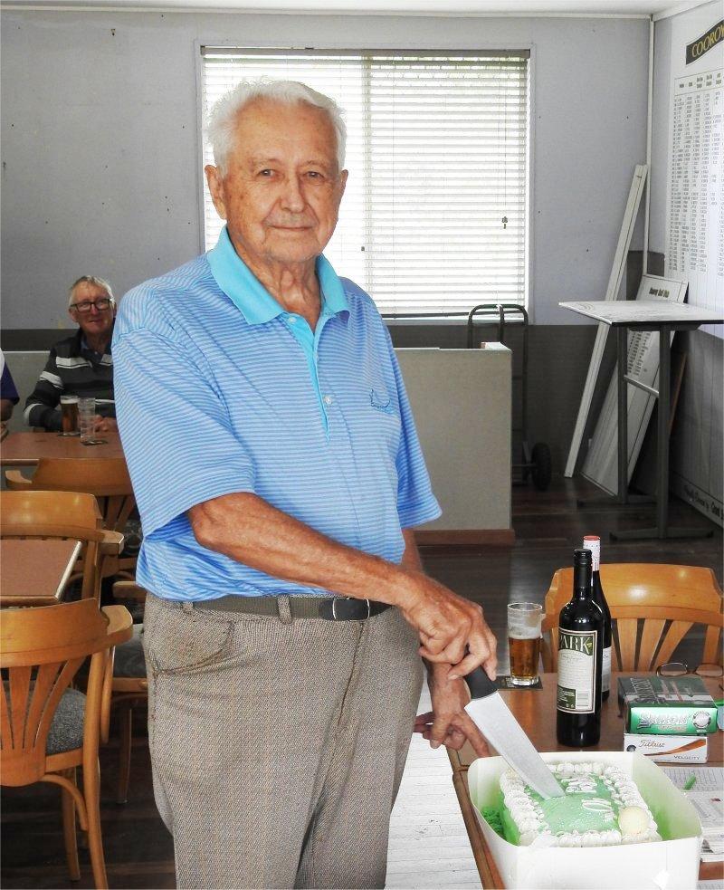 Miklenla Mike 90 yr birthday